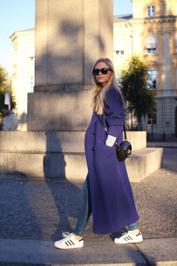 how good is that Dior blue topper. Tine in Stockholm. #TheFashioneaters