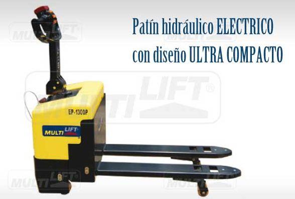 Patín eléctrico con diseño ultra compacto; más información y otros patines electricos aqui: http://www.multilift.com.mx/patines/patines-electricos/