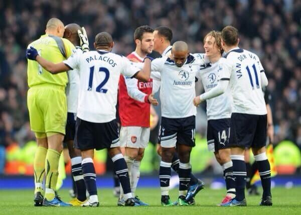2010 Spurs beat Arsenal 3-2 and we were there at Emirates ha ha ha