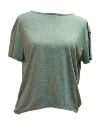 YogaColors Backless Loose Tee with Strap