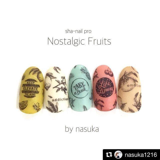 #Repost @nasuka1216 with @repostapp ・・・ . . sha-nail summer collection . 5/1発売新作!! sha-nail pro Nostalgic Fruits . . 大人っぽいフルーツ柄♡ . 下地のカラーも選ばないので万能シートです!! . . #gel #gelnail #nail #nailart #ジェル #ジェルネイル #ネイル #ネイルアート#ネイルデザイン  #セルフネイル #指甲彩绘#指甲#指甲美容沙龙#凝胶指甲#美甲#ネイルチップ#ネイルシール#네일아트#네일#샤네일 #ネイルサンプル#シンプルネイル#写ネイル#shanail #夏ネイル #summernails #フルーツネイル #フルーツ柄 #fruitnails