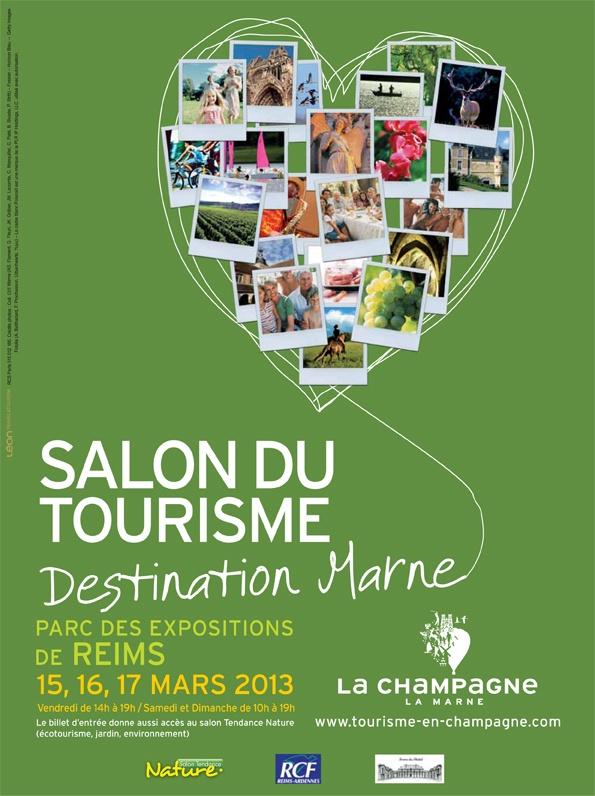 Salon Destination Marne - Du 15/03/2013 au 17/03/2013 - Parc des expositions de…