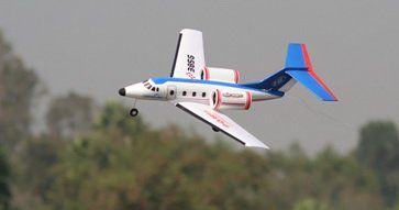 New 2 CH Air Earl Radio Remote Control Electric RC Airplane Jet RTF