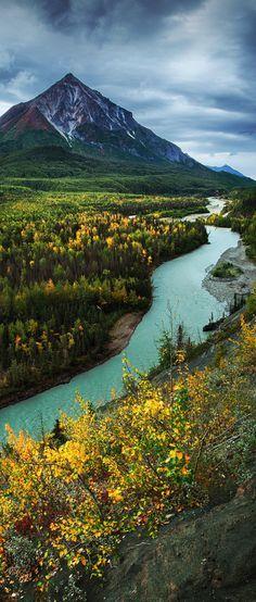 Matanuska River, Alaska, USA.