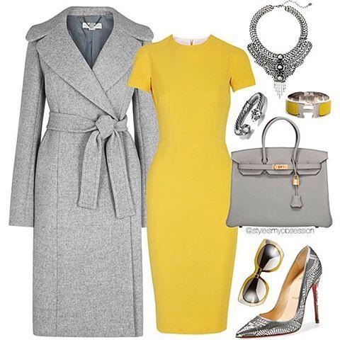Sundays Be Like  Coat: Harvey Nichols  Dress: Victoria Beckham Shoes: Christian Louboutin  Bag/Bracelet: Hermès  Sunglasses: Balenciaga Necklace: Dannijo  #sunday #lotd #ootd #hermes #louboutin #balenciaga #fall #fashion #fallfashion #fashionable #fashionista #styleinspiration #stylish #style #instastyle #instadaily #instalike #instafashion #mmis #chic #womensfashion #wardrobe #picoftheday #photooftheday #cl