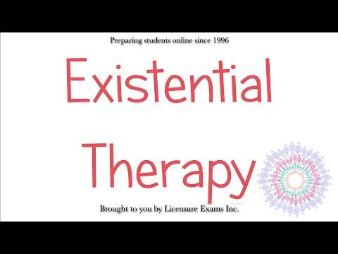 Existential Therapy - ASWB, NCE, NCMHCE, MFT Exam Prep and Review - YouTube