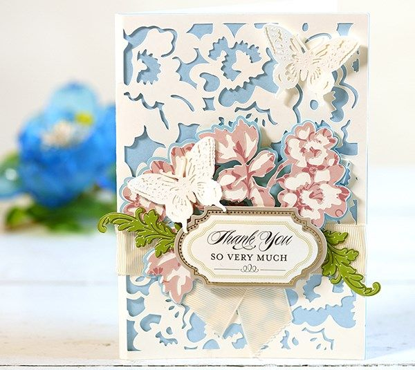 Garden Butterfly Card By Anna Griffin. Make It Now With The Cricut Explore  Machine In