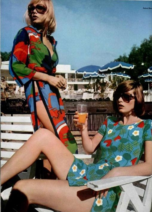 L'Officiel 1970. 70s summer style.