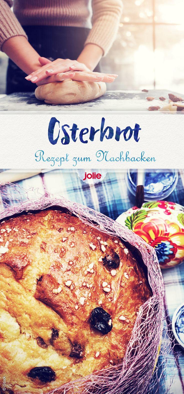 Auf Jolie.de findet ihr das schnelle Rezept für ein leckeres Osterbrot!