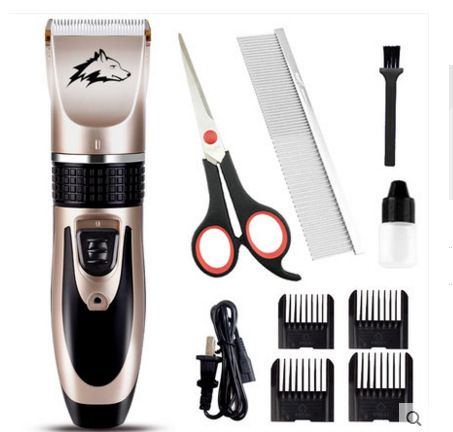 Rechargeable 35 Teeth  Dog Hair Trimmer Electrical Pet Hair Clipper Remover Cutter Grooming Pets Accessories Haircut