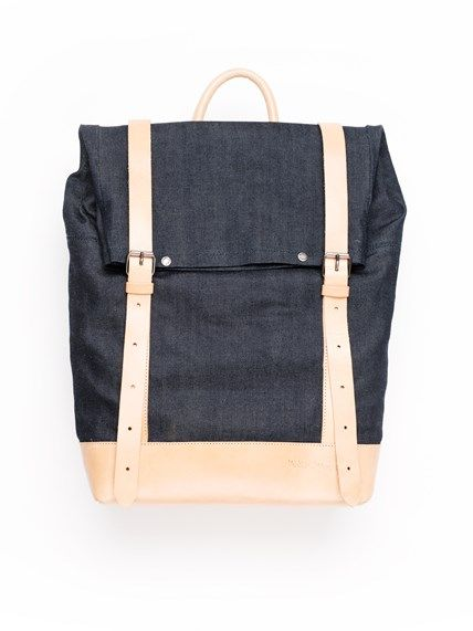 Petersson Organic Rucksack Denim - Nudie Jeans Online Shop