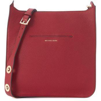 Geanta de mana Michael Kors Sullivan Shoulder Bag In Red Tumbled Leather Red de culoare rosie de dama