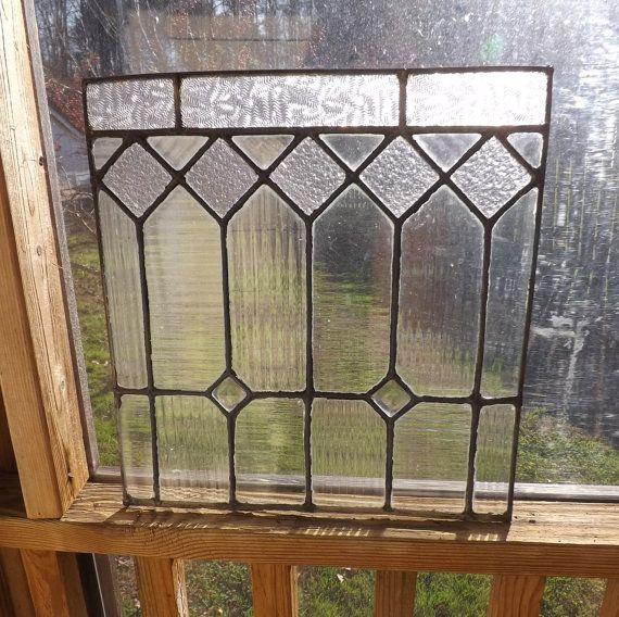 Vitrail antique fenêtre victorien américain Jeweled par fishbones1                                                                                                                                                                                 Plus