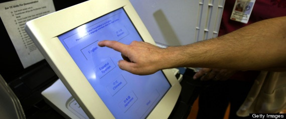 Electronic Voting Machines Still Widely Used Despite Security Concerns - touchscreen voting