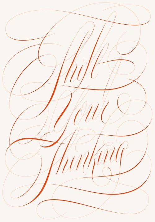 Pete Adams ~ calligraphy