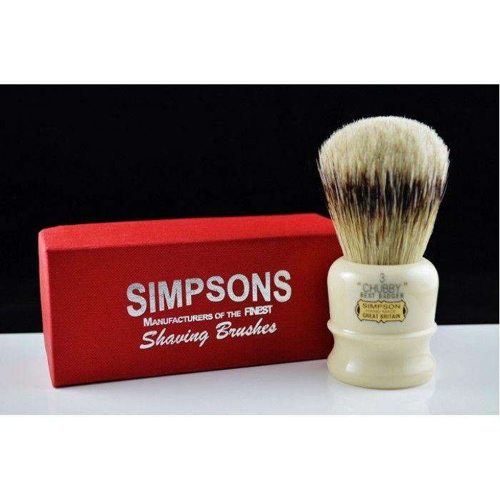 Want Simpso badger chubby brush bir