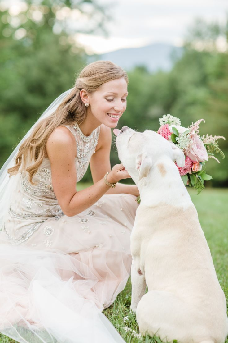 A Blushy Pink Gown In Perfect Vermont Setting