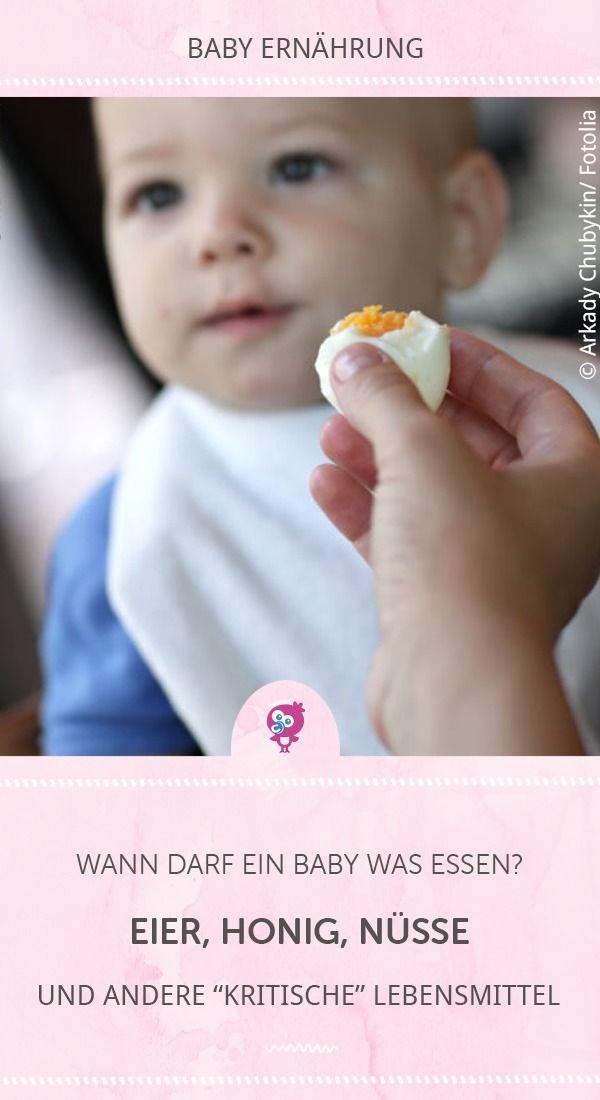 Honig, Nüsse, Eier: Ab wann Dein Baby was essen darf