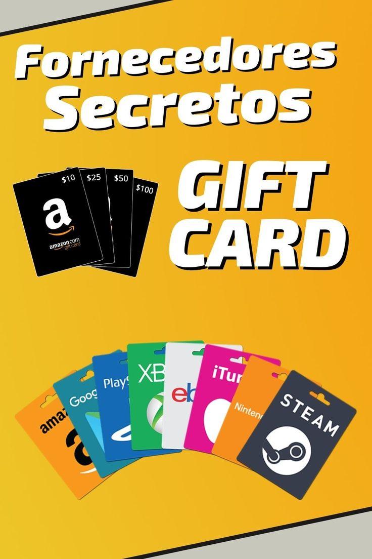 Como vender gift card lista de fornecedores secretos de