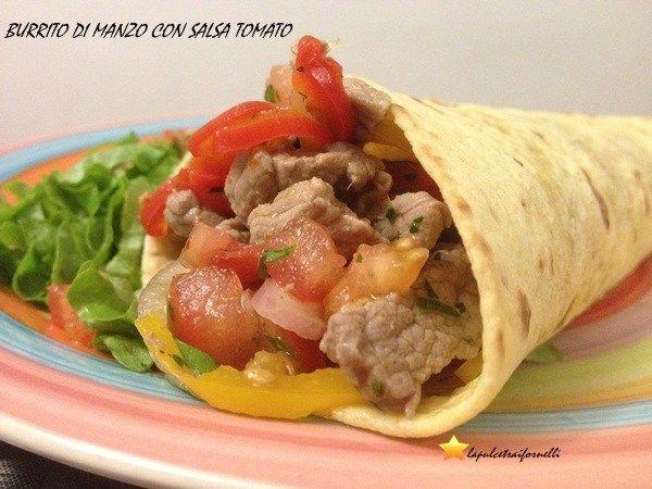 Il burrito di manzo è un piatto messicano meraviglioso!!! Provatelo!!