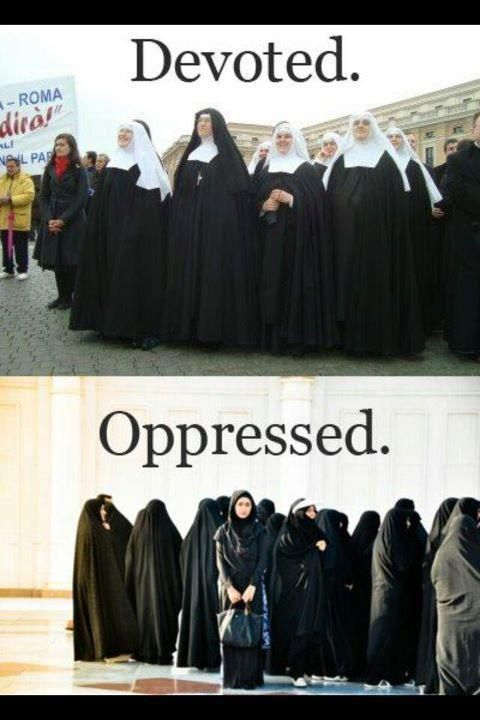 Devoted or Oppressed....