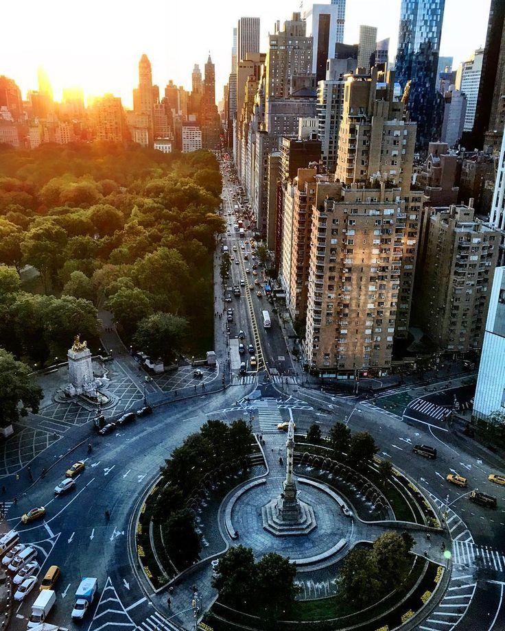 New York City Feelings - Columbus Circle by @scottlipps #nyc