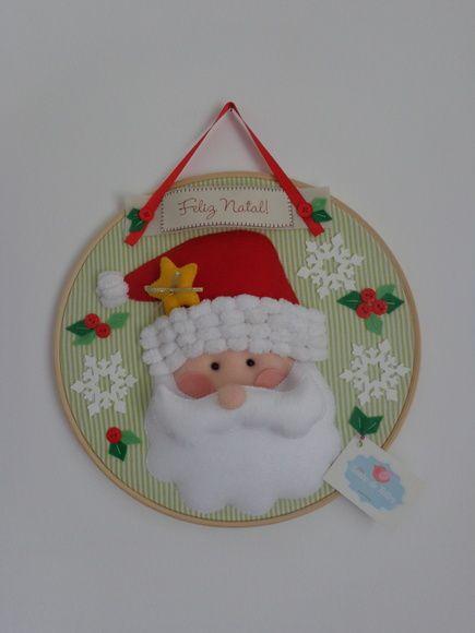 Quadro Bastidor Noel