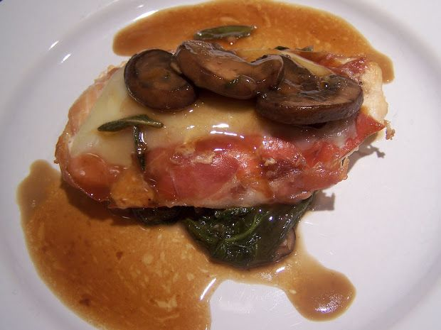 Chicken rossini recipe