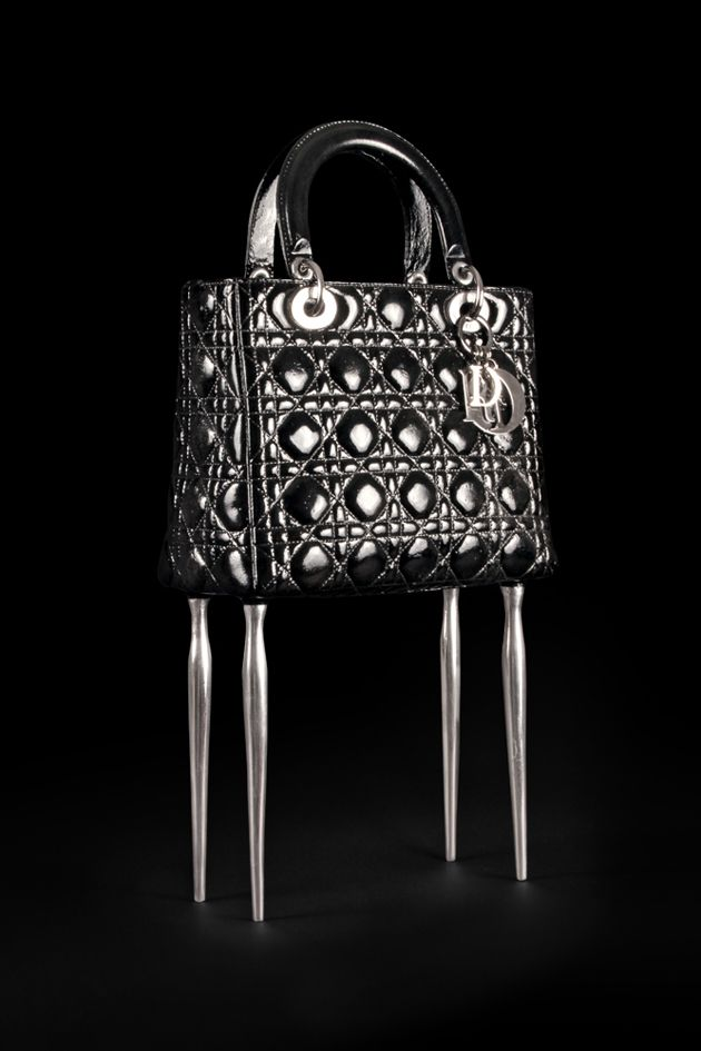 Young artist reviewed Lady Dior iconic bag