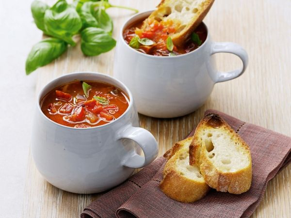 Soep van gegrilde groenten - Libelle Lekker!