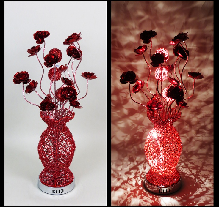 44 best wire table lamps images on pinterest wire table flower httpwirelampswlt30695redml all greentooth Gallery