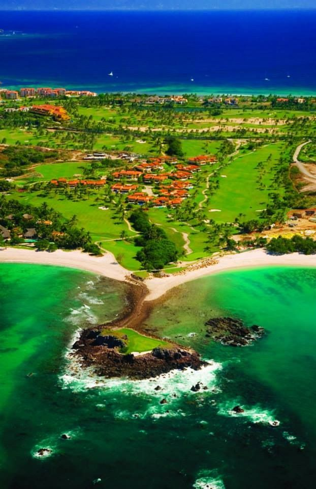 Punta Mita - Riviera Nayarit, south of Sayulita and much more developed and upscale. www.CasitasSayulita.com