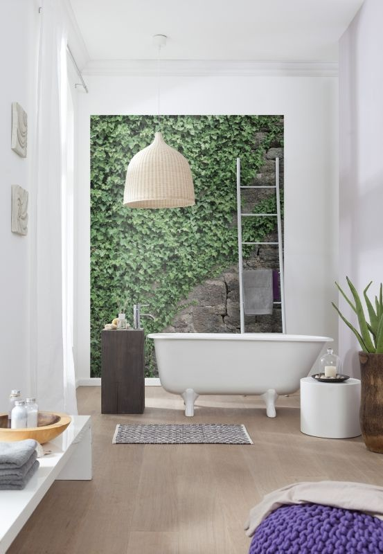 Find This Pin And More On Wood, Stone U0026 Concrete By Komarproducts. Ivy Wall  Mural ...