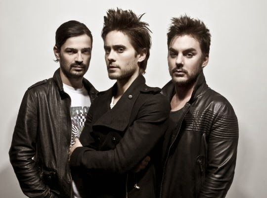 GoXtra News - Risky Biz ,Forward Looking, Serious and Critical but Entertaining!: Thirty Seconds to Mars South African Tour Postpone...