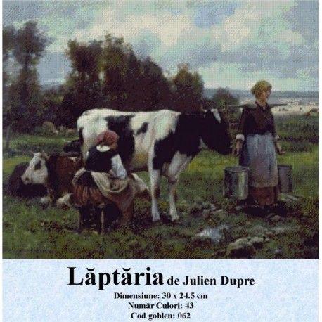 Goblen Laptaria de Julien Dupre http://set-goblen.ro/portrete/3712-laptaria-de-julien-dupre.html
