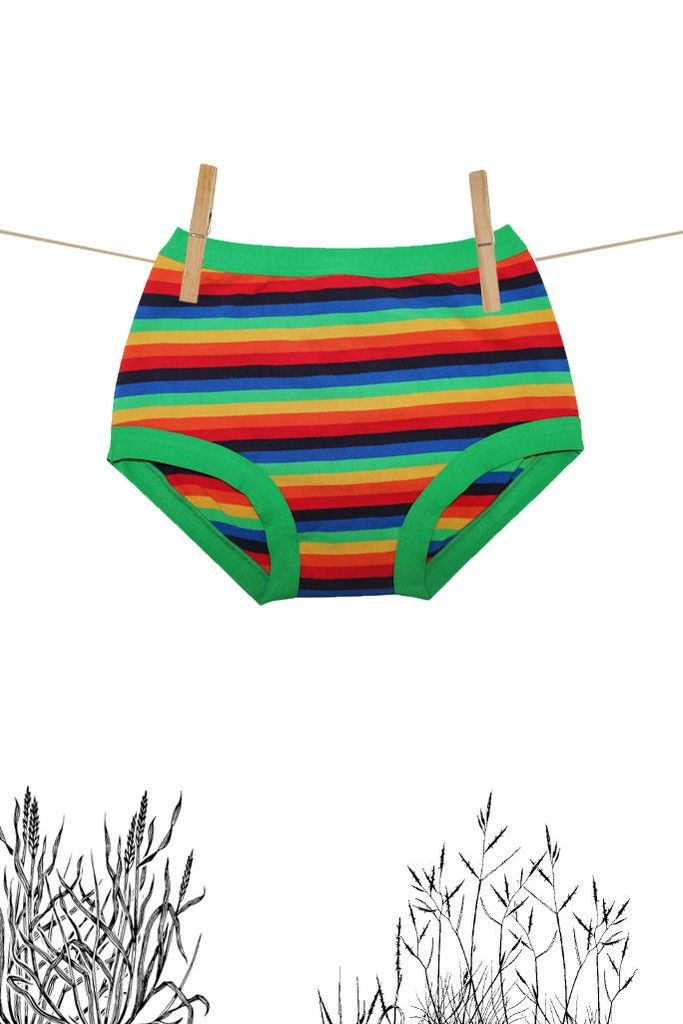 Womens Original Rainbow Stripe | Thunderpants NZ