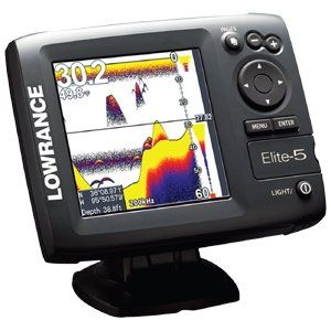 Lowrance Elite-5 Base US Combo Color w/200 kHz at http://suliaszone.com/lowrance-elite-5-base-us-combo-color-w200-khz/