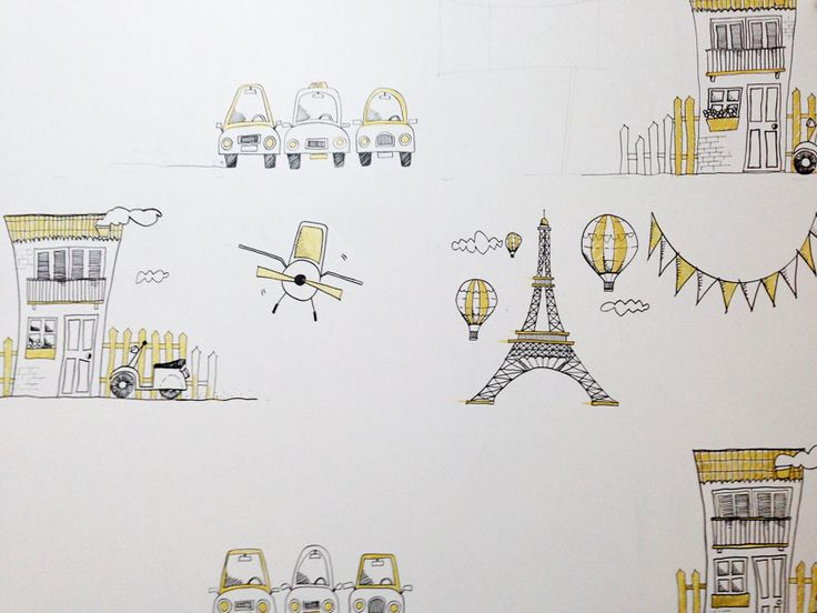 Paredes #4: Dibujos para Felipe