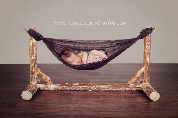 Custom Wooden Hammock Newborn Photography by HeatherLynnphotos, $200.00