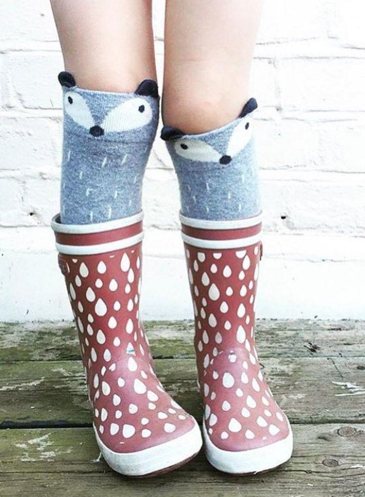 Raccoon Socks | Little Circus