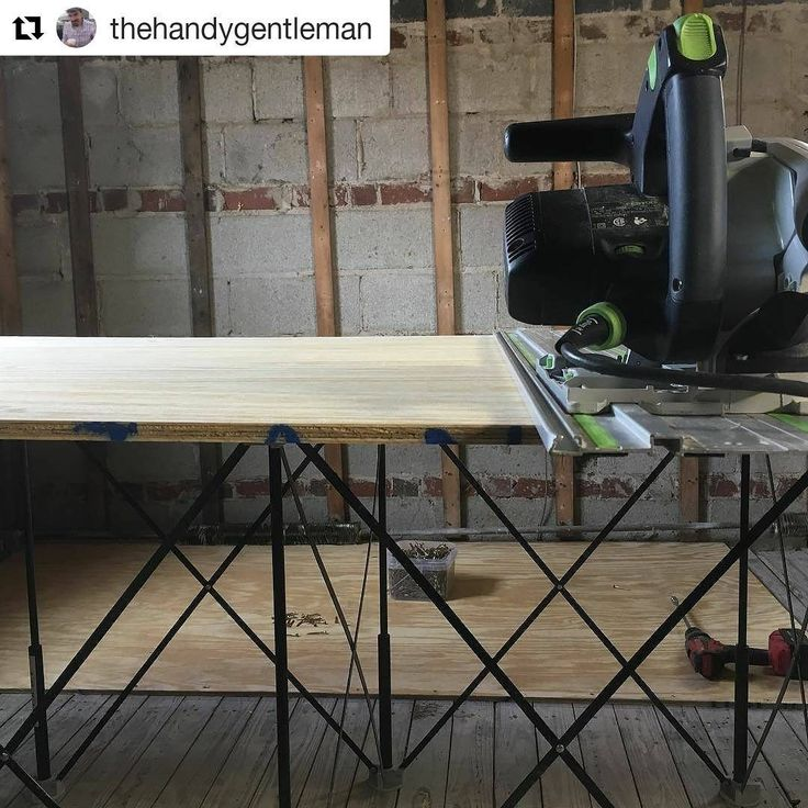 #CentipedeSupport earns its place on @thehandygentleman's #jobsite as a #gamechanger. #CentipedeTestimonial repost:    The game changers: @festool_usa  TS-55 track saw, CT-26 dust extractor, and @centipedetool Sawhorse workstation. I've gladly forgotten what life is like without them! #carpentry #festool #festoolme #tools #powertools #tracksaw #remodel #thegrassisgreener  #CentipedeTool #portable #workshop #workbench #woodshop #workspace #stand #sawhorse #carpenter #joinery