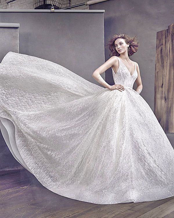 Lazaro Wedding Dresses - Romantic Bridal Collection ❤ See more: http://www.weddingforward.com/lazaro-wedding-dresses/ #wedding #dresses