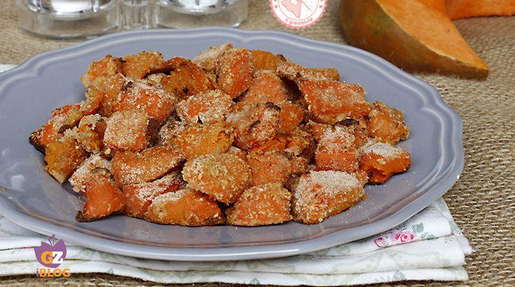 La zucca sabbiosa, una gustosa variante delle patate sabbiose gustosa, facile e veloce da preparare e troppo buona per non provarla.