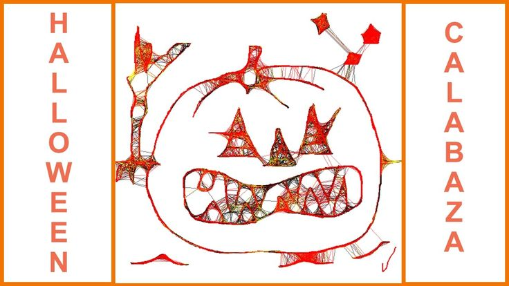 DIBUJANDO Y PINTANDO. Calabazas de Halloween. Calabazas.