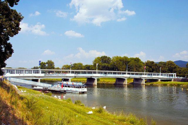 Kolonádový most, Piešťany