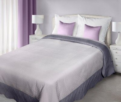 Sivo-grafitový prehoz Adela je dostupný v 2 rozmeroch: 170x210 alebo 220x240 cm.
