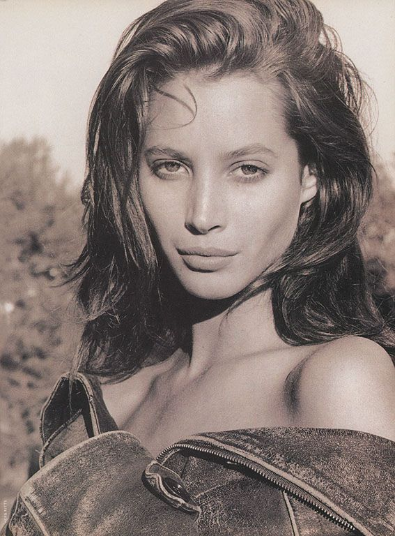 Christy Turlington by Herb Ritts, 1989