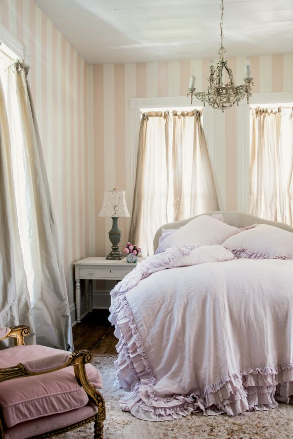 17 best images about prairie style on pinterest romantic for Shabby chic bedroom colors