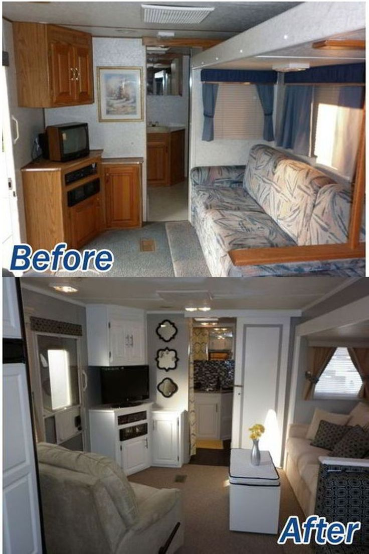 Rustic Rv Interior Remodeling Design Hacks Ideas 100