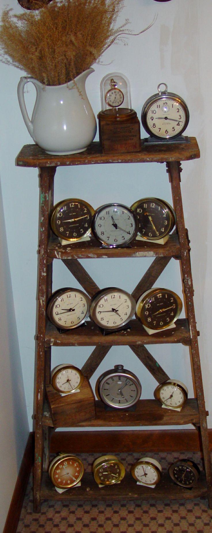 My 20 vintage ladder and Big BenBaby